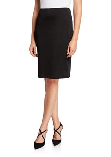 St. John Tangier Knit Pencil Skirt