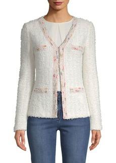 St. John Textured-Knit Jacket