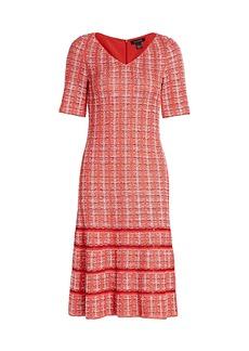 St. John Tweed Knit Dress