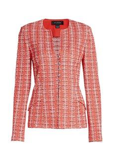 St. John Tweed Knit Jacket