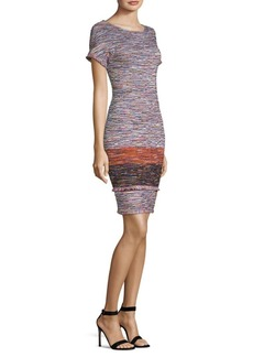 St. John Tweed Sheath Dress