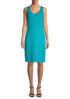 St. John Wool-Blend Sweater Dress