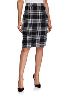 St. John Yorkville Knit Pull-On Skirt