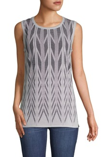 St. John Ziri Sleeveless Top