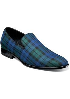 Stacy Adams Men's Steward Plaid Slip On Loafers Men's Shoes