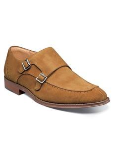 Stacy Adams Balen Moc Toe Double Strap Monk Shoe (Men)