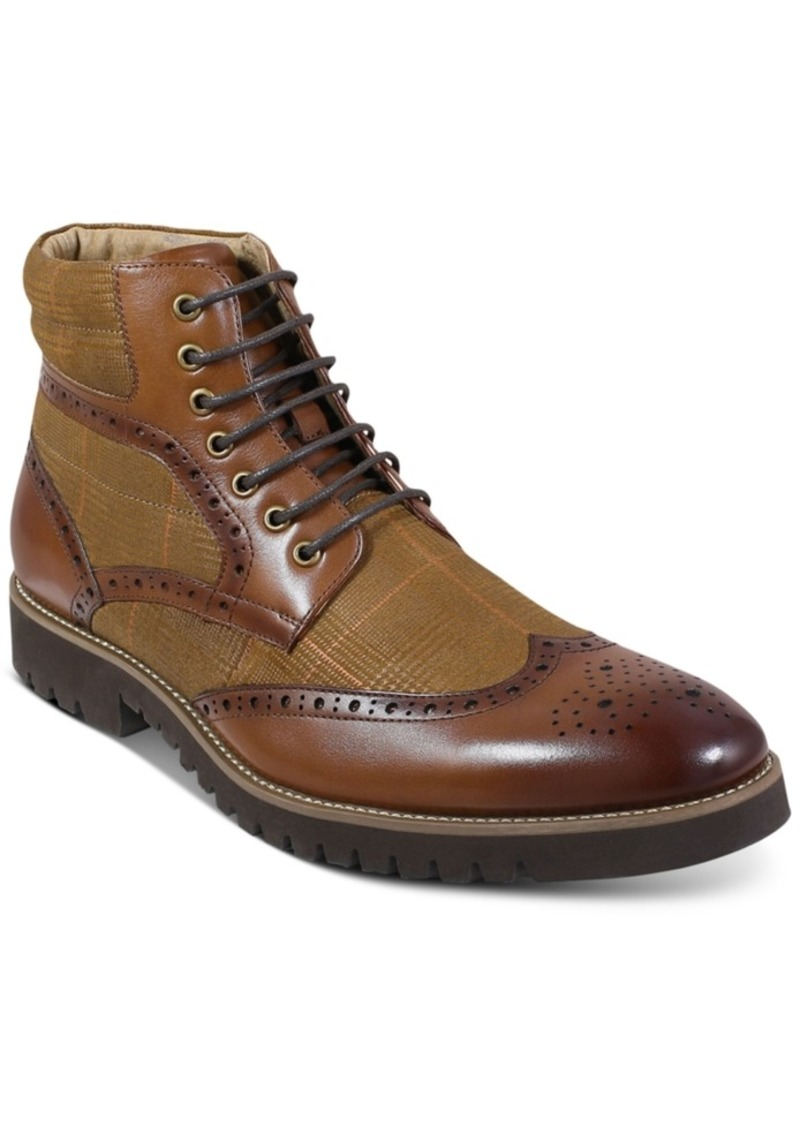 Stacy Adams Barker Wingtip-Toe Boots Men's Shoes