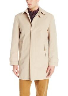 Stacy Adams Cloud Fly Front 36 Inch Length Rain Top Coat  2x Regular