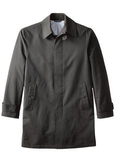 Stacy Adams Cloud Fly Front 36 inch Length Rain Top Coat   Regular
