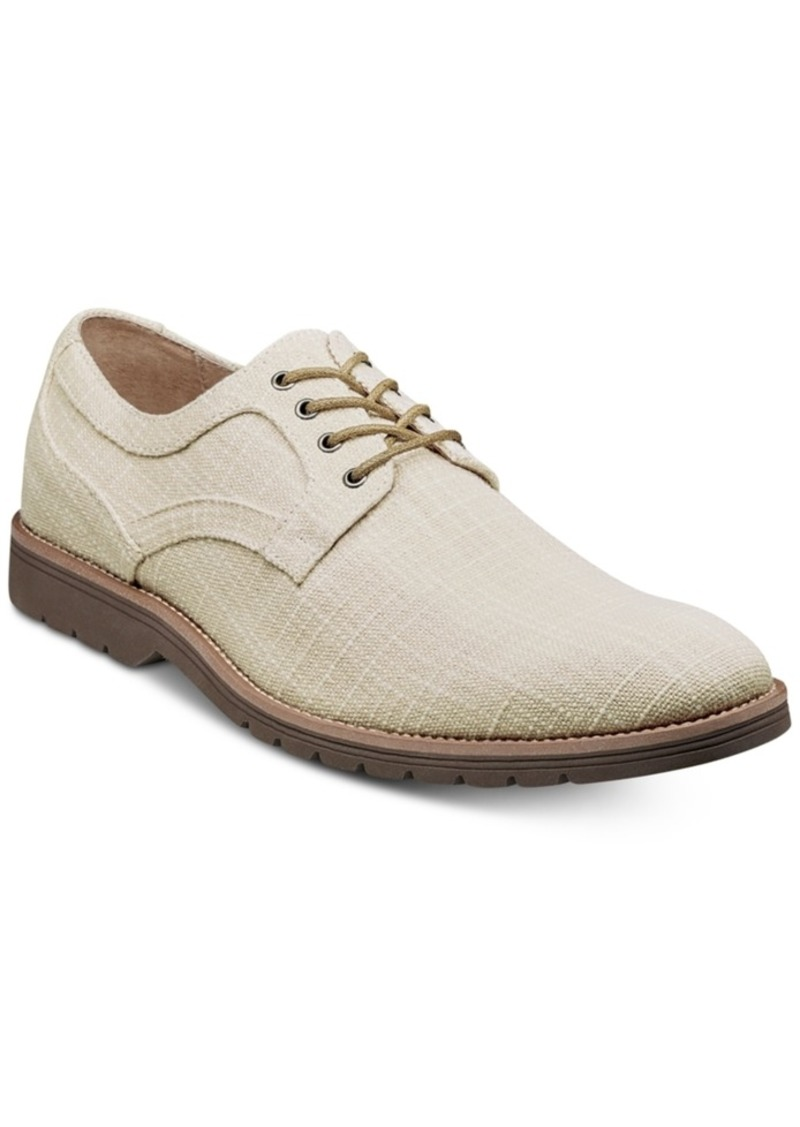 Stacy Adams Eli Textured Canvas Oxfords Men's Shoes