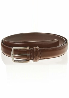 Stacy Adams Men's 30mm Pinseal Leather Belt (Reg & Big Sizes)