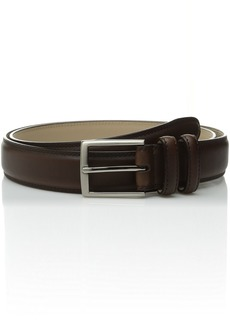 Stacy Adams Men's 34mm Geniune Leather Belt with Microfiber Lining