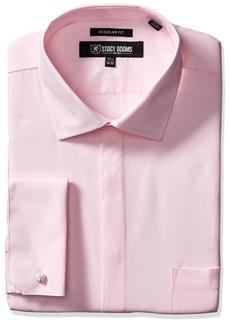 Stacy Adams Men's 39000 Solid Dress Shirt