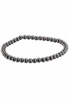 Stacy Adams Men's 49132 4mm Hematite Bracelet Accessory bronze N/A