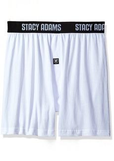Stacy Adams Men's 4pack Cotton Loose Boxer