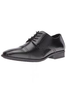 STACY ADAMS Men's Abbott Slip Resistant Cap Toe Oxford