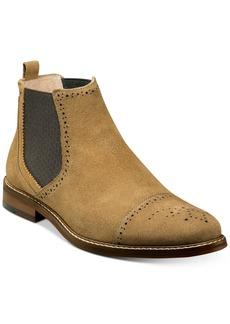 Stacy Adams Men's Abner Cap-Toe Chelsea Boots Men's Shoes