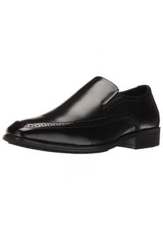STACY ADAMS Men's Acton Slip Resistant Moc Toe Slip-on Loafer   M US