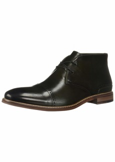 STACY ADAMS Men's Ashby Cap-Toe Lace-Up Chukka Boot