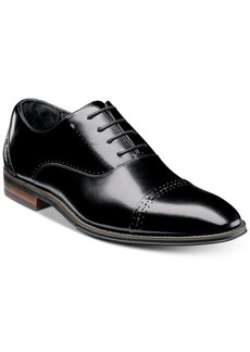 Stacy Adams Men's Barris Cap Toe Leather Oxfords Men's Shoes