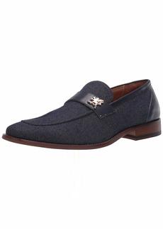 STACY ADAMS Men's Beltran Canvas Slip-On Loafer