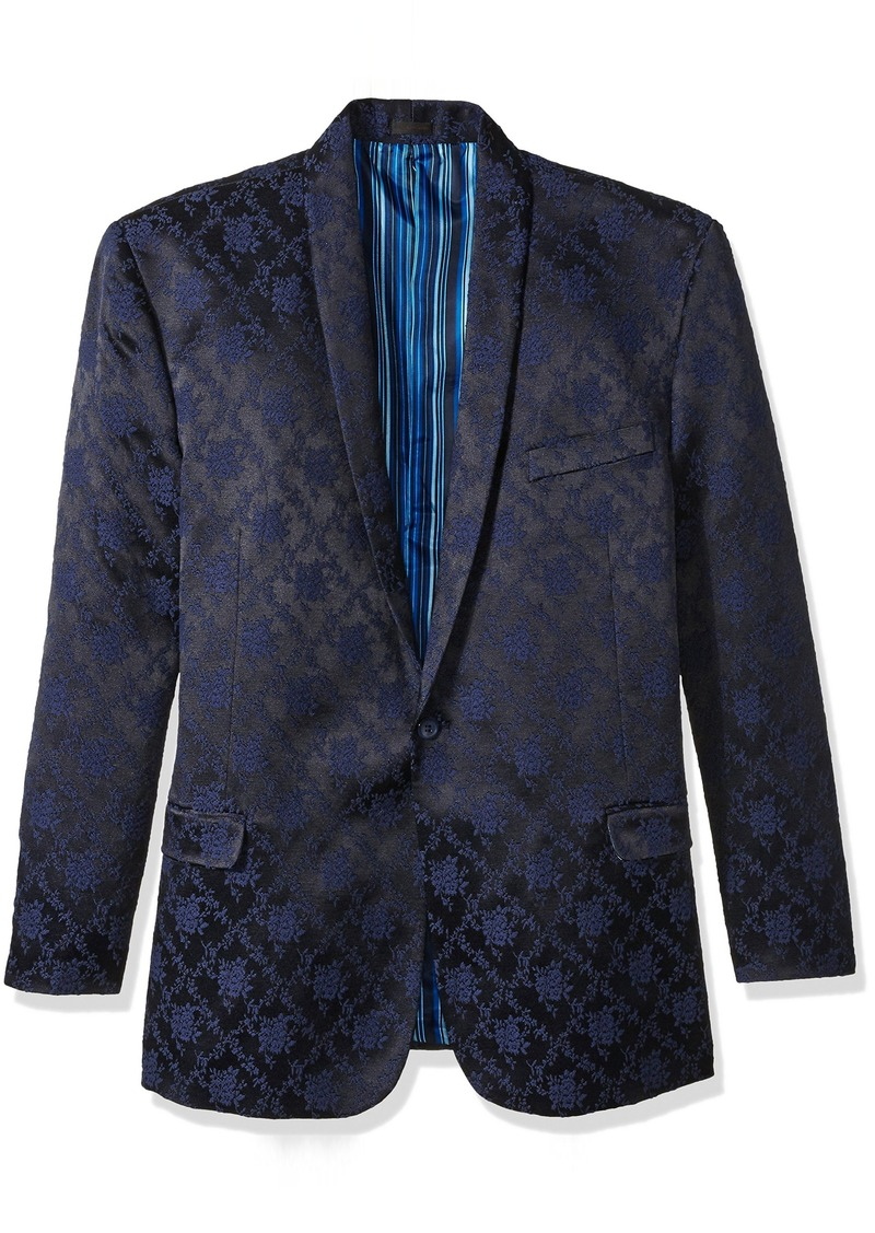stacy adams stacy adams men 39 s big and tall scott floral sports coat outerwear. Black Bedroom Furniture Sets. Home Design Ideas