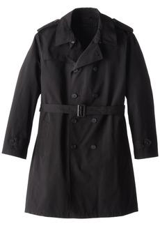 Stacy Adams Men's Big-Tall Rain Double Breasted Full Length Top Coat   Regular