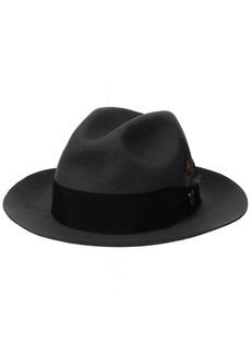 STACY ADAMS Men's Cannery Row Wool Felt Fedora Hat