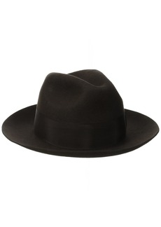 Stacy Adams Men's Cannery Row Wool Felt Fedora Hat  X-Large
