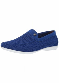 STACY ADAMS Men's Ciran Textile Casual Slip-On Driver Driving Style Loafer