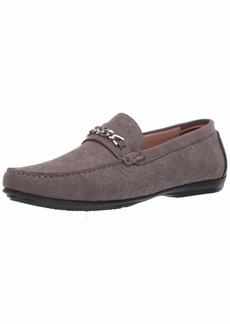STACY ADAMS mens Clem Moe Toe Bit Slip-on Driving Style Loafer   US