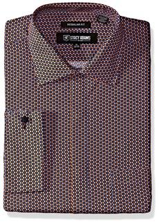 Stacy Adams Men's Color Plaid Classic Fit Dress Shirt