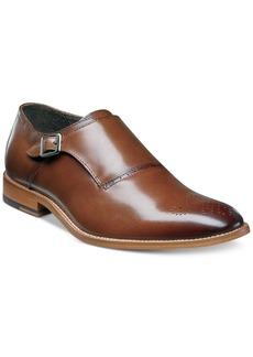 Stacy Adams Men's Dinsmore Plain Toe Monk Strap Loafers Men's Shoes