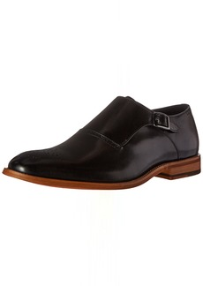 STACY ADAMS Men's Dinsmore Plain Toe Monk Strap Slip-On Loafer   M US