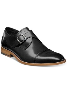 Stacy Adams Men's Duncan Cap-Toe Single Monk Strap Shoes, Created for Macy's Men's Shoes