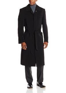 Stacy Adams Men's Eros Hidden Front Full Length Top Coat   Regular