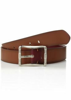 Stacy Adams Men's Fairmount 40mm Reverisble Belt cranberry/cognac