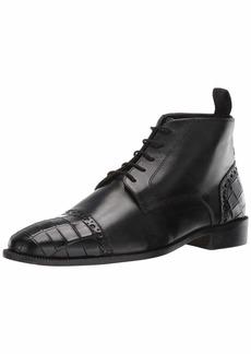 Stacy Adams Men's Franco Cap Toe Lace-Up Chukka Boot black  M US