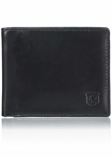 Stacy Adams Men's Hudson Bifold Leather Wallet black