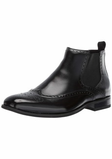 Stacy Adams Men's Iverson Wingtip Chelsea Boot black  M US