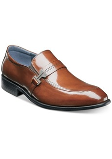 Stacy Adams Men's Jonas Moc-Toe Ornament Slip-Ons Men's Shoes