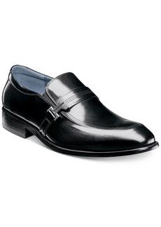 Stacy Adams Men's Jonas Moc-Toe Ornament Slip-Ons Men's Shoes
