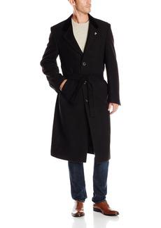 Stacy Adams Men's Lance Three Button Full Length Top Coat   Regular
