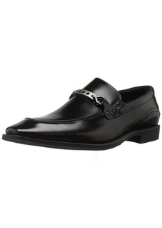 STACY ADAMS Men's Lindford Moc Toe Bit Slip-on Penny Loafer
