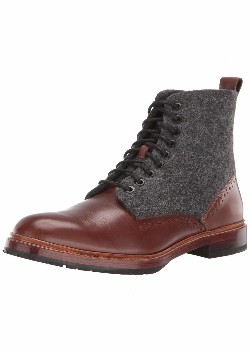 STACY ADAMS Men's M2 Plain Toe Lace-Up Boot Ankle  9.5 D US