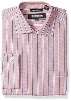 Stacy Adams Men's Mini Check w/Dobby Stripe Clsssic Fit Dress Shirt