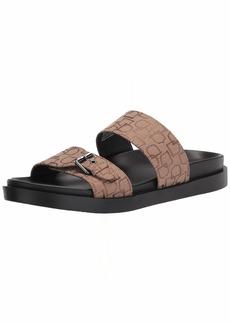 STACY ADAMS mens Montero Double Strap Slide Sandal Loafer   US