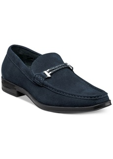 Stacy Adams Men's Nesbit Moc Toe Braided Strap Loafers Men's Shoes