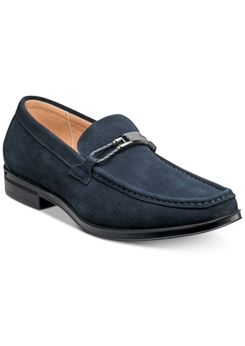 Stacy Adams Men's Neville Moc-Toe Slip-On Loafers Men's Shoes