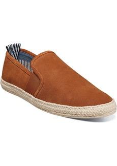 Stacy Adams Men's Nino Plain Toe Slip On Espadrille Men's Shoes